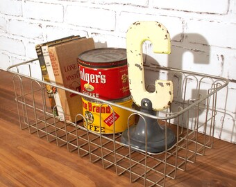 Rectangular Metal Basket Organizer