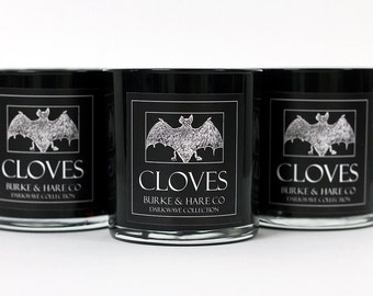 Darkwave Collection - Scented Candle - Cloves - Goth Candle