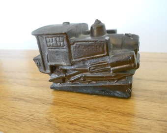 Vintage cast iron train.  Pike's Peak Railway.  Miniature.  Collectible.