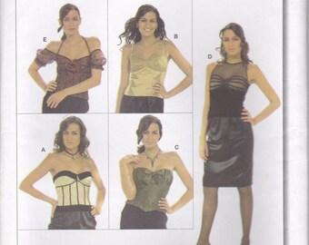 Awesome Bodice or Blouse Pattern Burda 7982 Sizes 6 - 20 Uncut