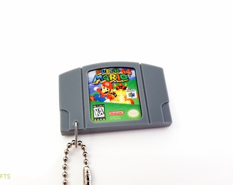 Super Mario 64 - N64 Cartridge Keychain