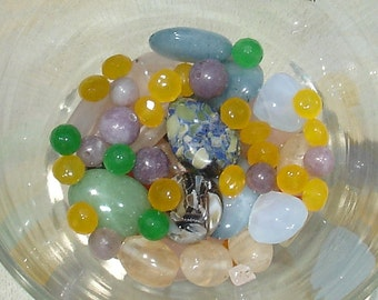 Beads of the Month Club Membership -  6 Months - Glass & Gemstone - NO Acrylic