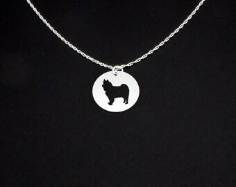 Finnish Lapphund Necklace - Finnish Lapphund Jewelry - Finnish Lapphund Gift