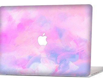 "Apple Macbook Air 11"" 13"" Decal Skin Cover and Apple Macbook Pro Retina 12"" 13"" 15"" Decal Skin Cover - Pink Watercolors"