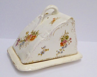 Victorian Cheese Dish Antique Butter Dish Vintage Cheese Dish Vintage Kitchen Vintage Table Vintage Serving