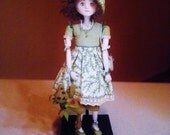RESERVED ~Maisie ~ OOAK Art Doll