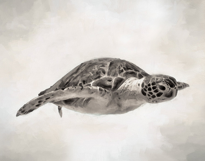 Sea Turtle Bathroom Accessories Sea Turtle Decor Etsy