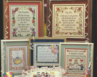 "Clearance- ""Celebrate Children"" Counted Cross Stitch by Cross My Heart"