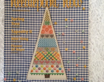 Needlepoint Now Magazine, Spring Needlepoint Patterns, March April 2011