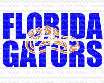 Gators Knockout, Florida, Mascot, Gators, SVG, DXF, EPS, Instant Download, Digital Design