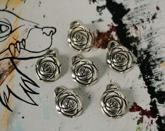 Rose Charms (6 pcs)