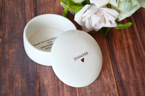 Wedding Officiant Gift Ideas: Wedding Officiant Gift Personalized Keepsake Box By Susabellas