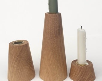 Rounded Tapered Candle Stick