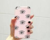 Upper East Eye phone case - iPhone 6 Plus Iphone 5/5s 4/5s Samsung Galaxy S6
