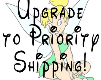 Upgrade to Priority Shipping