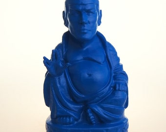 Star Trek - Spock Buddha (Deep Blue)