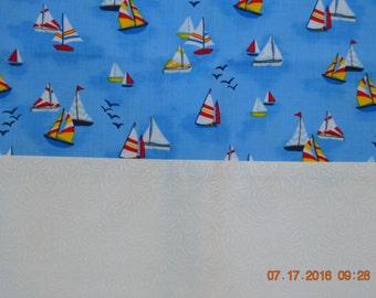 Sail Boats Pillowcase