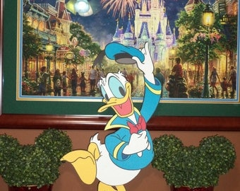 28 inch tall Donald Duck Cutout Standee Decoration
