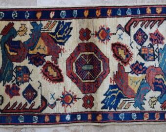 2 by 3 rug / Vintage Pillow / Vintage Cushion / Oushak Pillow / Pillow Cover / Pillow Rug / Cushion Cover / Rug Pillow / Turkish Pillow