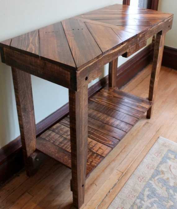 Wood Pallet Table Sofa Console Furniture