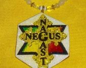 RESERVED for Arturo The Royal Touch Rastafari Negus Nagast Pendant Necklace