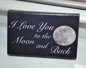 """25 Matchbox Wedding Favors_""""..To The Moon & Back"""""""