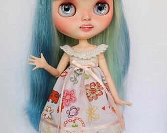 Dress for Blythe or similar 1/6 dolls