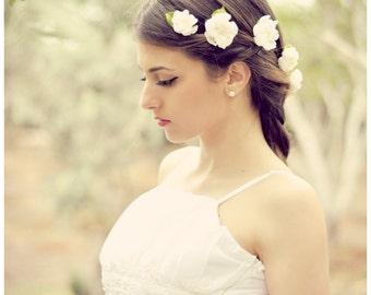 Flower hair pins, Wedding hair pins, Flower bobby pins, Bridal hair pins, Hair accessories, Wedding hair pin, Bobby pins