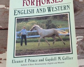 HORSE BOOK-Basic Training For horses,English and Western Horses,Horsemanship Book,Equestrian Book, Horse Training Book,Horse Book,English