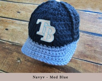 Baby shower gift, Baby clothes,Tampa Bay Rays hat, Baby boy clothes, Baby gift, baby boy outfit, baby boy coming home outfit, baby outfit,