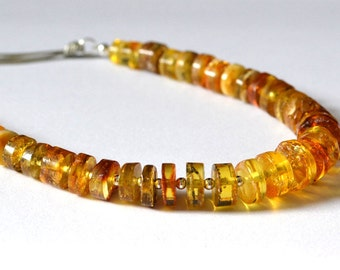 Natural Amber Necklace, Baltic amber necklace, Amber Jewelry, Amber