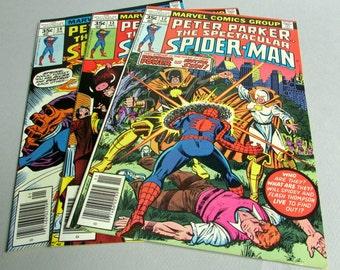 Peter Parker The Spectacular Spider-Man No. 12, No. 13, or No. 14, November, December 1977, or January 1978, Marvel Comics