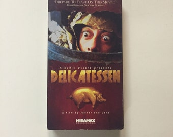Delicatessen (VHS, 1992) Presented by Terry Gilliam