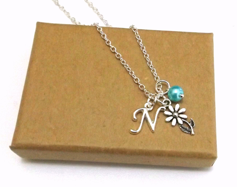 Flower Girl Necklace Flower Girl Gift Flower Girl Jewellery