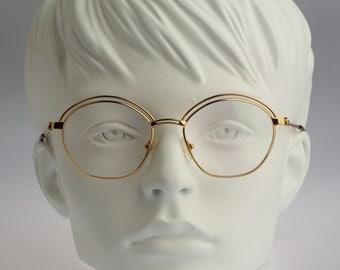 Moschino By Persol M 43 / Rare NOS 90s vintage eyeglasses / Unique design by High end designer manufacturing standard