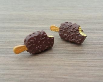 Ice Cream Earrings | Cute Food Earrings | Popsicle Earrings | Novelty Earrings