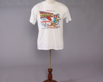 Vintage 80s BMX T-SHIRT / 1980s Grand Nationals Dirt Bike Tee Tshirt
