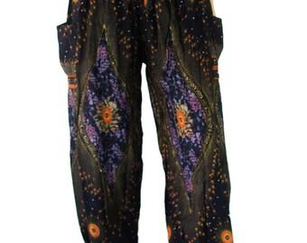 Harem pants Peacock pants Thai pants Bohemian pants Hippie clothes Hippie pants Gypsy pants Elephant clothes