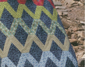 Varsity Quilt Pattern by Jaybird Quilts (JBQ117)