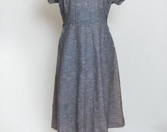 Adorable Blue Vintage Dress