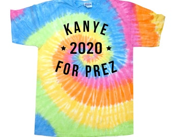 Kanye 2020 Tie Dye T-Shirt