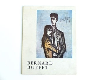 Exhibition catalog : BERNARD BUFFET, 1959 / modern painting still life portrait