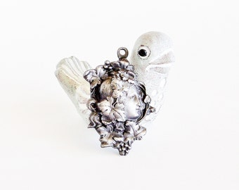 Art Nouveau Goddess Pendant