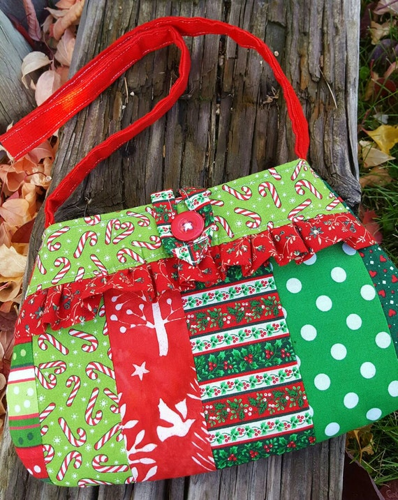 Christmas Toddler Purse, Girl's  Purse with Matching Coin Purse