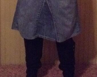 Jean Skirt Size 8