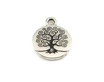 Add on tree Charm round tree charm