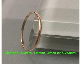 18k band ring, 18K Gold Ring