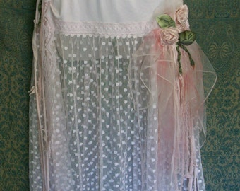 slip dress, slip, sheer skirt, lingerie, vintage, negligee, pastel, pink, fairy dress, faerie, wedding night lingerie, romantic clothing