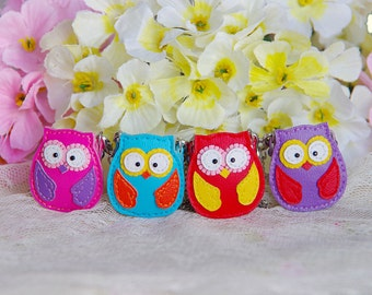 "Lati Yellow/Pukifee - Mini ""Lucky Owl"" Leather Bags - 4 colors"