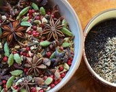 Whole Spice Chai Masala & Loose Leaf Assam, Hand-blended Chai Masala, Masala Chai, Chai Tea, Spiced Chai Tea, Loose Leaf Assam Chai
